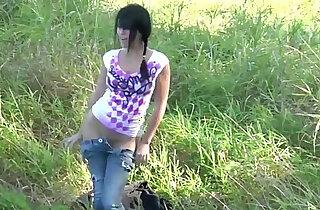 OpenLife Sassy Meli My Outdoor Solo! xxx tube video