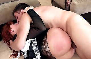 redhead maid fuck punishment xxx tube video