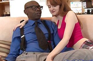 Stepdaughter cocksucking black stepdad xxx tube video