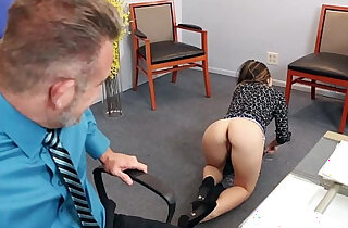 Bambi Brooks rides her dads cock on top xxx tube video