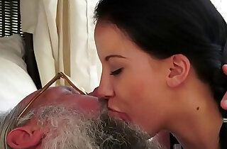 Old young kissing compilation xxx porn