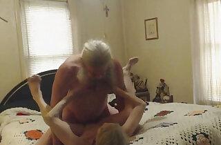 Grandma and Grandpa having sex cam xxx tube video