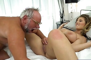 19 yo Aida Swinger pussy and ass eaten and banged by grandpa xxx tube video