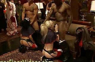 The upper floor orgy party xxx porn
