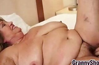 Big Grandma And Her Younger Lover Fucking xxx tube video