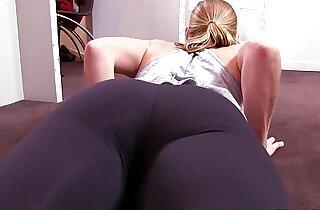 Denise Yoga Pants xxx tube video