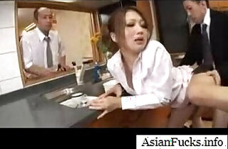 Asian in a Maid Cosplay Takes a Load in Her Mouth, Pussy and Ass xxx tube video