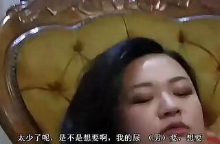 Slave serving two Chinese mistresses with his mouth. xxx tube video