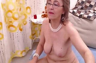 Granny fills both holes with toys xxx tube video