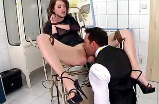 Petite brunette Babe her Asshole and Pussy Destroyed by her Boss and Loves it xxx tube video