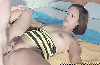Real Amateur Gets Her Fuzzy Pussy and Fucked xxx tube video