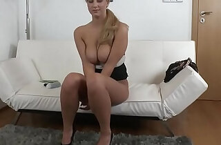 Real senorita sucks and fucks cock during audition xxx tube video