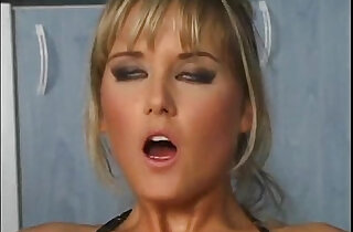 Nikki Montana babe sucks and fucks in fishnets and heels xxx tube video