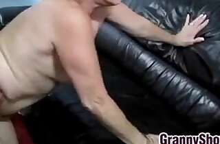 Blonde Grandma Being Licked And Fucked xxx tube video
