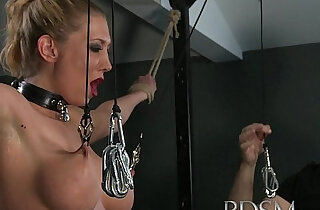 BDSM XXX Master gives blonde beauty a hardcore lesson in respect xxx tube video