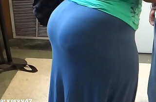 Big Ebony BBW Candid Booty xxx tube video