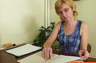 Dame teacher masturbates after class xxx tube video