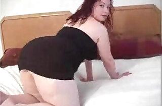 bbw Latina gets her anal xxx tube video