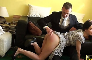 English sub cockriding after getting spanked xxx tube video