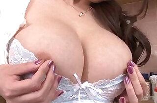 Akari Asagiri pounds her vag with huge toys xxx porn