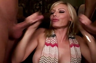 Cfnm babe Holly Sampson fucks and sucks xxx tube video