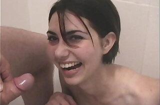 Serbian slut Kiki drinking piss xxx tube video