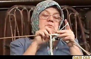 Old Grandma Accepting Big Cock xxx tube video