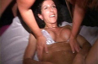 Orgy MILF w red head cunt hair Sucks fucks at EXXXotica afterparty xxx tube video