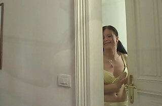 Girlfriend drinks his brothers sperm xxx tube video