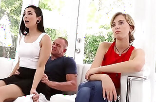 Malina Mars wake step dad with a hot blowjob xxx tube video