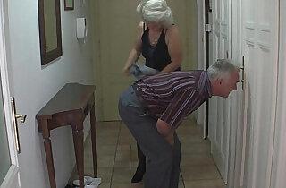 Perverted old parents fuck blonde amateur girl xxx tube video