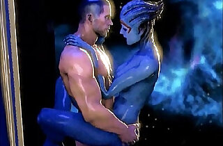 Mass Effect Samara And Shepard Romance Compilation xxx tube video