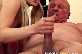 Teen and grandpa madly in love xxx tube video