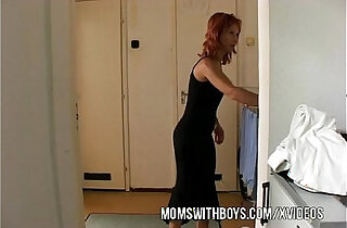 Stepmom Seduces Stepson Into Getting his Hard xxx tube video