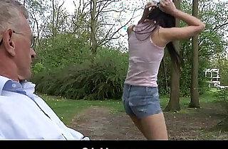 Playful cute latina teen girl fucks older guy for sexual fun xxx tube video