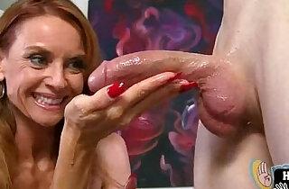 Big tit handjob slut xxx tube video