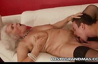 Nasty Grandma! xxx tube video