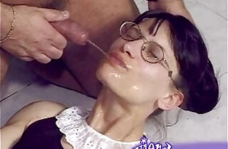 Skinny girl gets pissed on and anally fucked xxx tube video