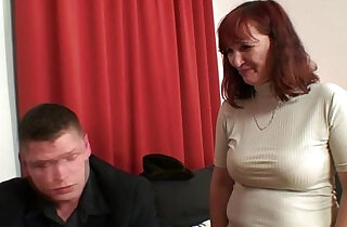 Poker playing granny swallowing two big cocks xxx tube video