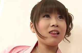 Ririka Suzuki needy milf kneels in front of a big cock xxx tube video