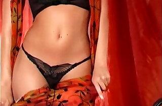 Blonde masturbates in panties and sheer stockings xxx tube video