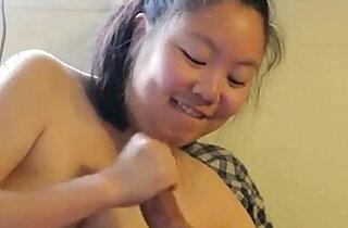 Exposed Asian ex Girlfriend Sucks A Hard Cock xxx tube video