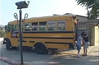 Ashley Blue School Bus Girls xxx tube video