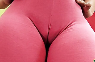 Huge Latina Ass In Tight Spandex. Big Cameltoe. xxx tube video