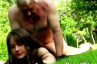 Having sex with an older guys this young brunettes life complete xxx tube video