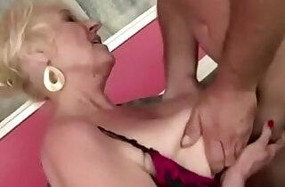 Granny Fucks New Yoga Teacher xxx tube video