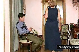 Alluring Sexy Kinky Pantyhose Milf gets pussy Fucked xxx tube video