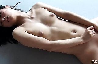idol Reika Yamada shaved pussy with a dildo masturbation xxx tube video