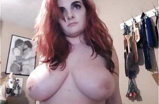 Curvy big ass and big tits slut masturbating xxx tube video