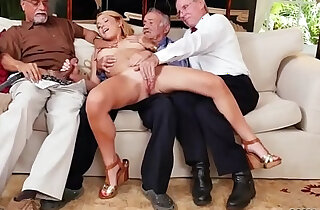 Big boobs blonde with student Frannkie And The Gang Tag Team xxx tube video